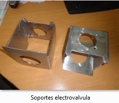 Soportes electrovalvula